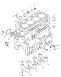 Блок цилиндров Perkins ZZ50324